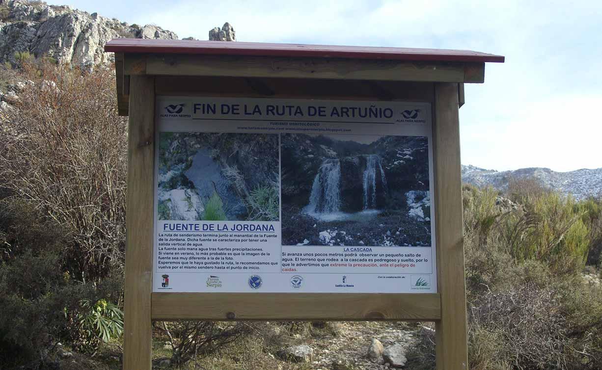 Ruta Ornitológica Artuñio Nerpio