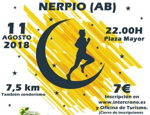 IV Carrera Nocturna Nerpio 2018