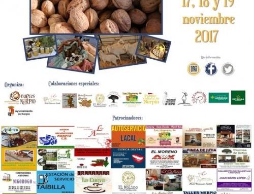 Feria de la Nuez y productos tradicionales de Nerpio 2017
