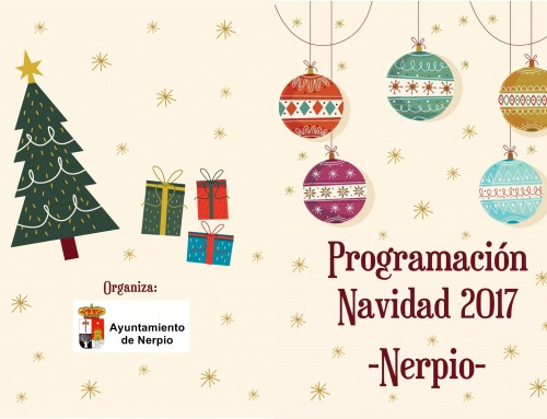 Programación Navidad Nerpio 2017