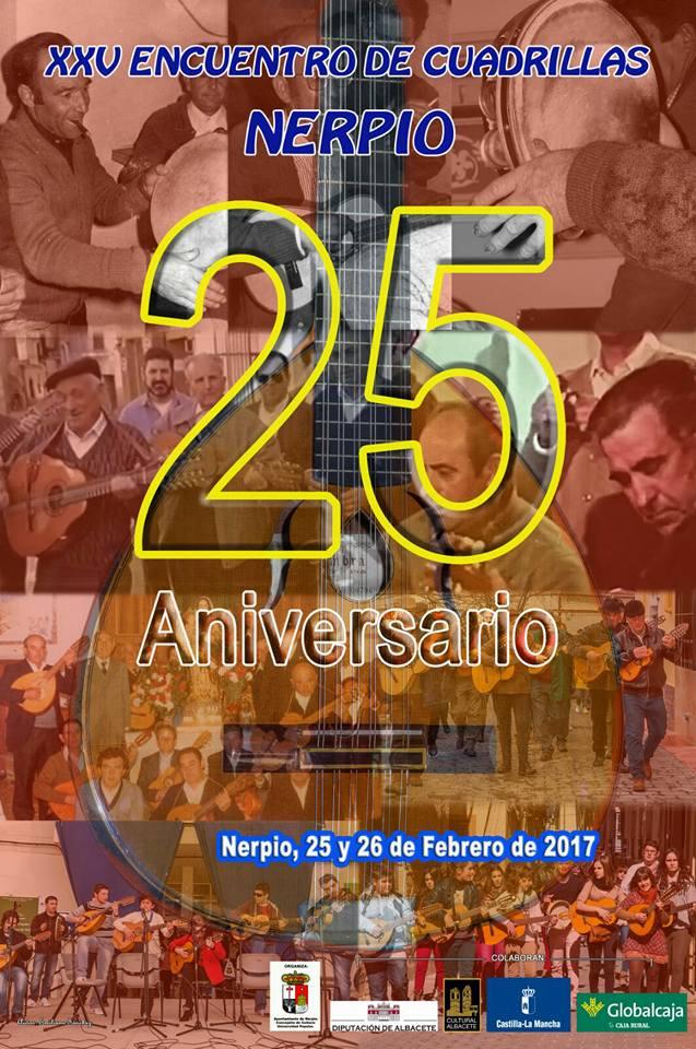 XXV Encuentro de Cuadrillas de Nerpio 2017