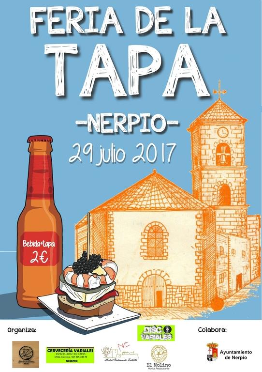 Feria de la Tapa Nerpio 2017