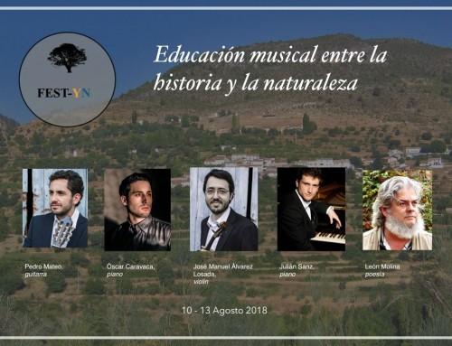 FEST-YN Festival de música Yetas-Nerpio 2018