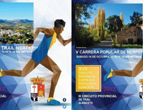 V Carrera Popular y II Trail de Nerpio (Circuito Diputación de Albacete 2017)