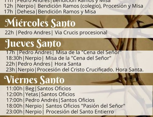 Semana Santa 2019 en Nerpio